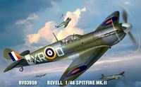 Revell 1:48 Supermarine Spitfire Mk.II Plastic Model Kit