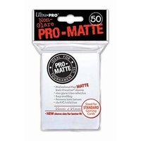 Ultra Pro: Pro-Matte Deck Protector Sleeves - White