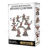 Warhammer Age of Sigmar: Khorne Bloodbound Frenzied Goretribe