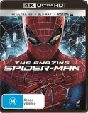 The Amazing Spider-Man on Blu-ray, UHD Blu-ray
