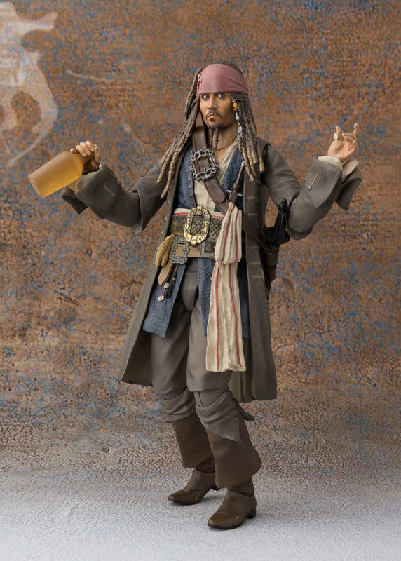 Pirates of the Caribbean: Captain Jack Sparrow - S.H.Figuarts Figure image
