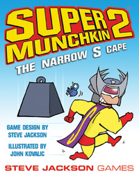 Super Munchkin 2: The Narrow S Cape Expansion