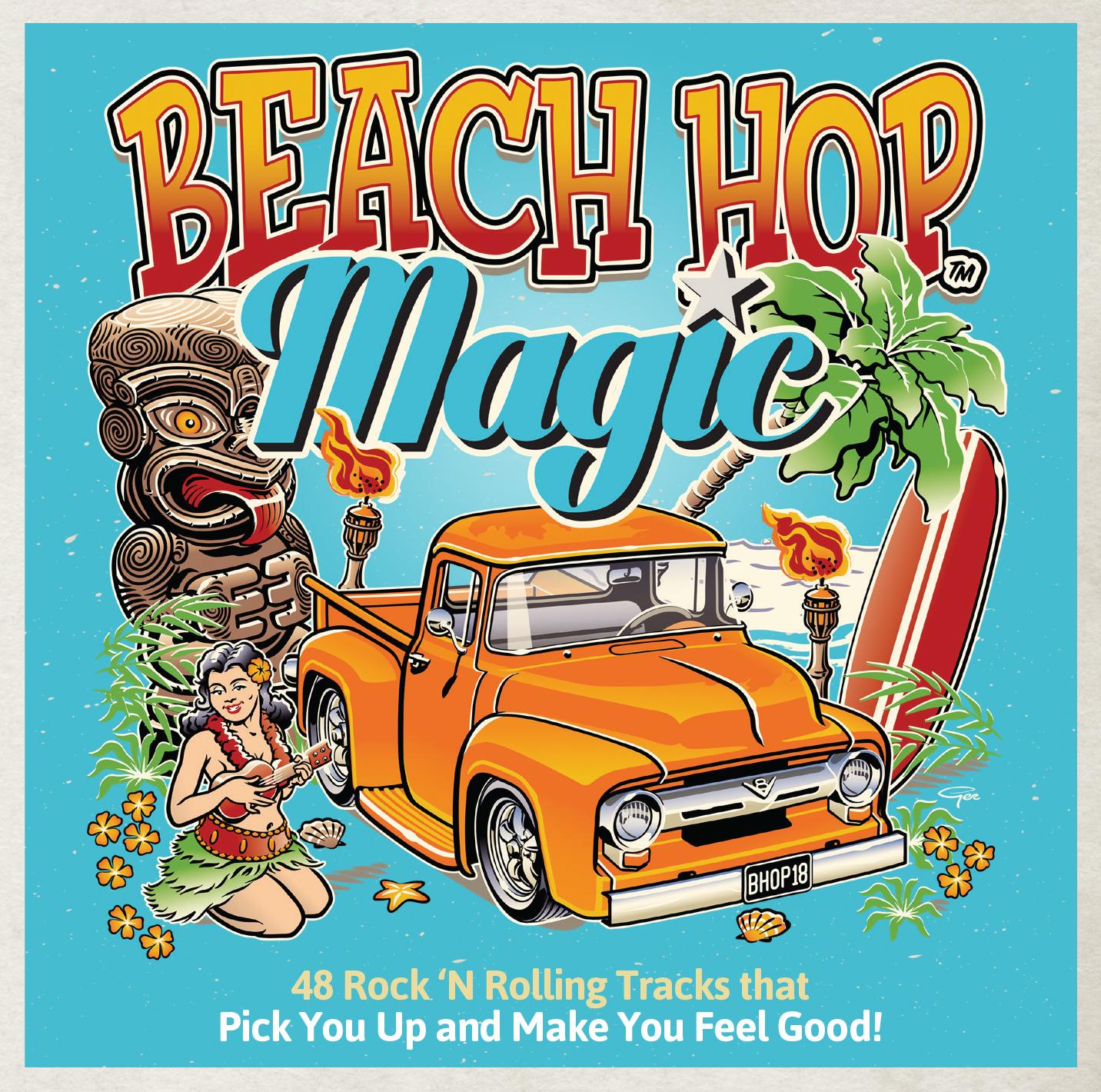 Beach Hop Magic (2CD) by Various image