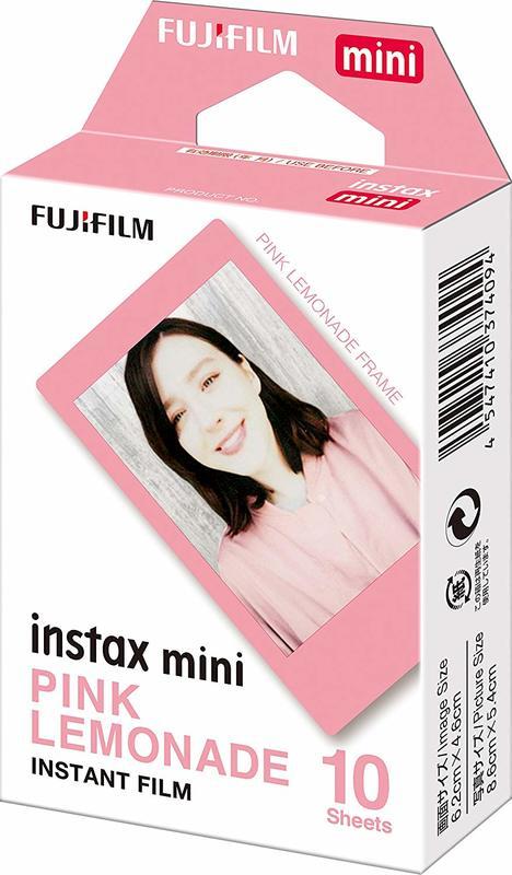 Fujifilm Instax Mini Film 10 Pack - Pink Lemonade