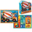 Crocodile Creek: 24-Piece Two-Sided Puzzle - Cement Mixer