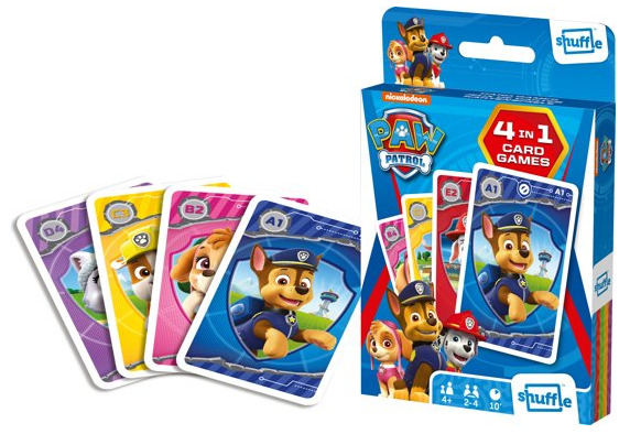 Shuffle: 4-In-1 Card Games - Paw Patrol image