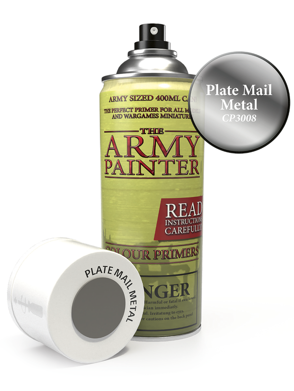 Army Painter: Colour Primer - Plate Mail Metal