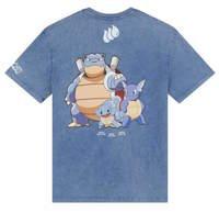 Criminal Damage x Pokemon: Squirtle - Ocean Blue Tee (Size: M)