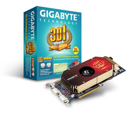 Gigabyte Graphics Card NVIDIA Dual GeForce 6800 GT VPU image