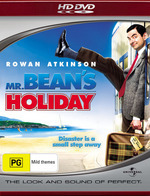 Mr Bean's Holiday on HD DVD
