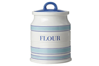Maxwell & Williams: Coastal Stripes Canister - Flour (1.5L) Gift Boxed