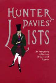 Hunter Davies' Lists by Hunter Davies image