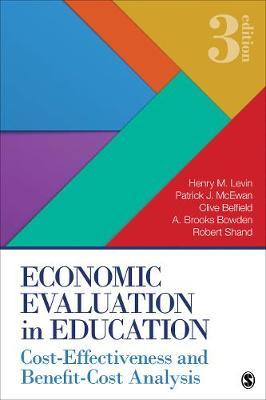 Economic Evaluation in Education by Henry M Levin