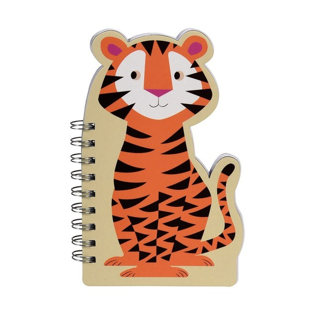 Colourful Creatures Spiral Notebook - Tiger