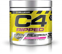 Cellucor C4 Ripped Pre-Workout - Fruity Rainbow Blast (30 Serve)