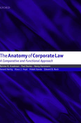 The Anatomy of Corporate Law: A Comparative and Functional Approach image