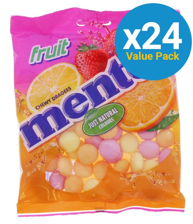 Mentos: Fruit Mints - (24 x 175g)