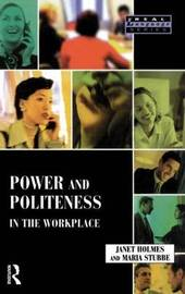 Power and Politeness in the Workplace by Janet Holmes image