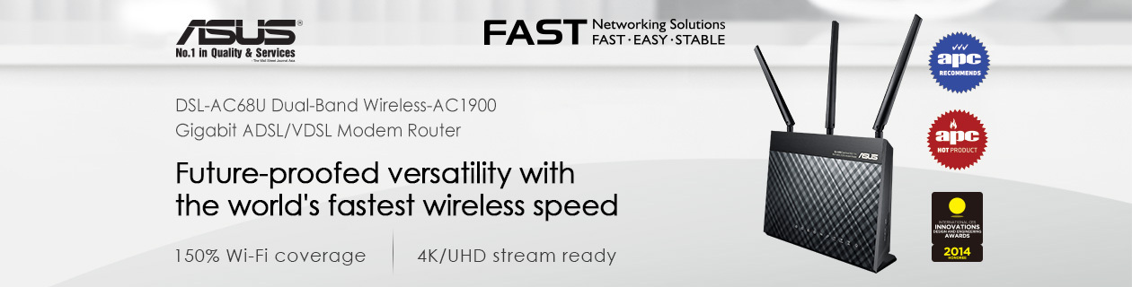 Concurrent Dual Band Wireless Router!