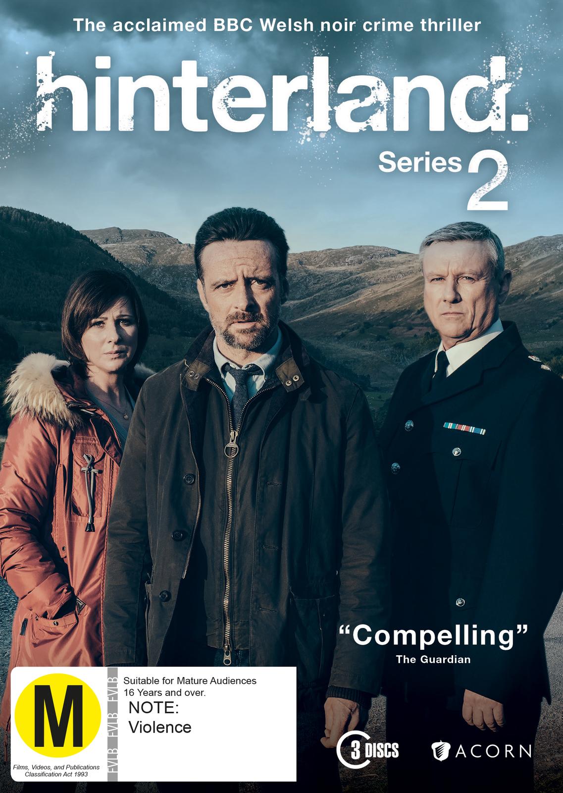 Hinterland Season 2 on DVD image