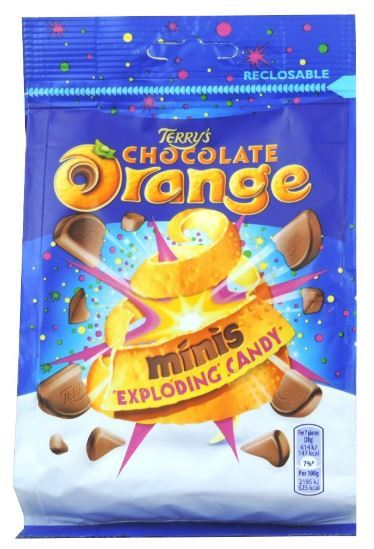 Terry's Chocolate Orange Minis - Exploding Candy (125g) image
