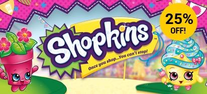 25% Off Select Shopkins!