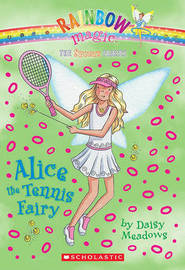 Alice the Tennis Fairy by Daisy Meadows image