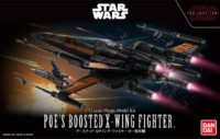 Star Wars 1/72 Poe Boosted X-Wing - Scale Model Kit