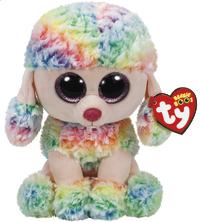 Ty Beanie Boo: Rainbow Poodle - Medium Plush