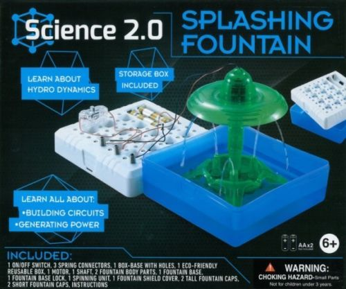 Science 2.0: Splashing Fountain - Science Kit