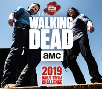 The Walking Dead Daily Trivia Challenge 2019 Day-to-Day Calendar by Sellers Publishing