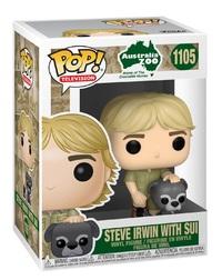 Crocodile Hunter: Steve Irwin (with Sui) - Pop! Vinyl Figure
