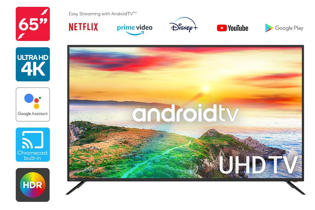 "Kogan 65"" 4K Smart Android TV image"