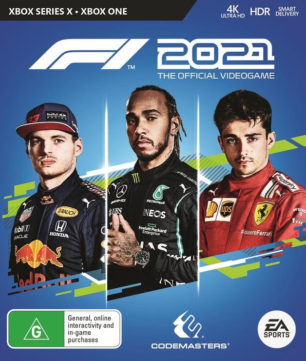 F1 2021 for Xbox Series X, Xbox One