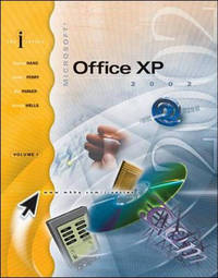 Ms Office Xp: Vol 1 by Stephen Haag image