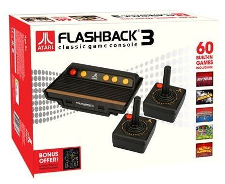 Atari flashback 3 classic gaming console at mighty ape nz - Atari flashback classic game console game list ...