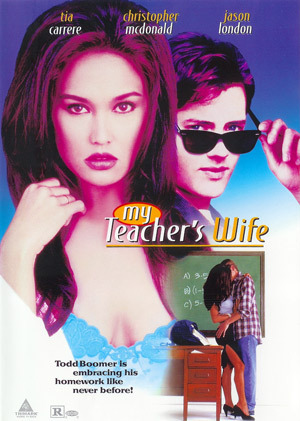 My Teacher's Wife on DVD image