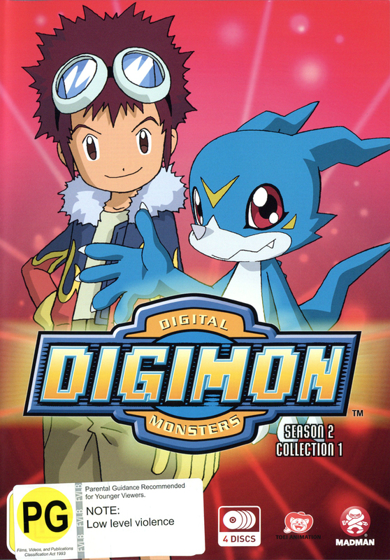 Digimon: Digital Monsters 02 (2000) Season 2 Collection 1 (Eps 1-25) on DVD