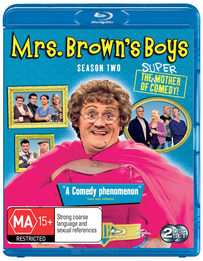 Mrs. Brown's Boys - The Complete Second Season on Blu-ray image