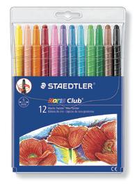 Staedtler Noris Club 221 Wax Twisters Pkt12