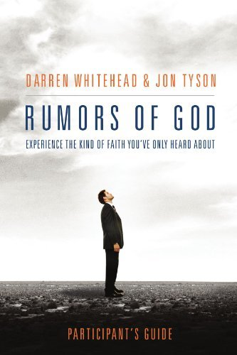 Rumors of God Participant's Guide by Darren Whitehead image