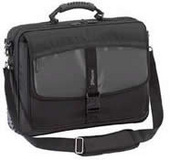 "Targus BlackTop Grey Standard Case - up to 17"" Grey/Black"