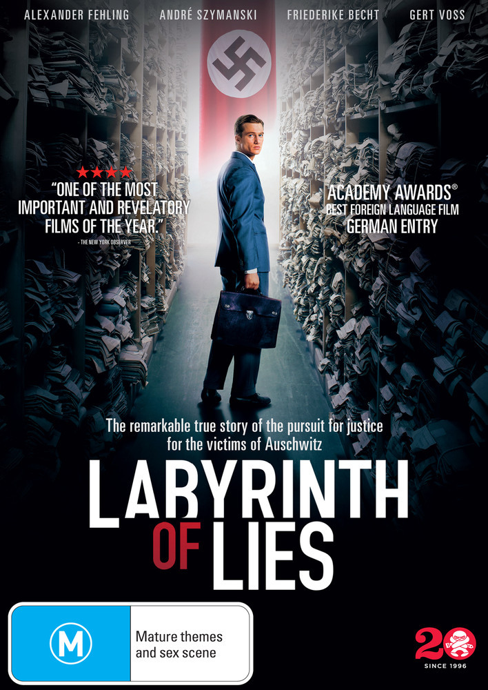 Labyrinth Of Lies on DVD image