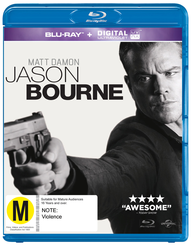 Jason Bourne on Blu-ray