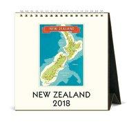 New Zealand 2018 Desk Calendar