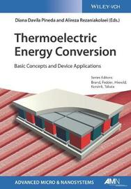 Thermoelectric Energy Conversion by Diana Davila Pineda