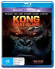 Kong: Skull Island on Blu-ray