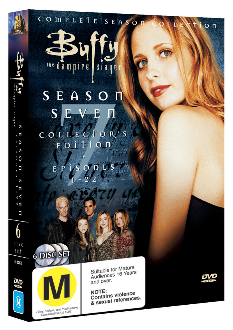 Buffy - The Vampire Slayer: Season 7 (6 Disc Set) on DVD image