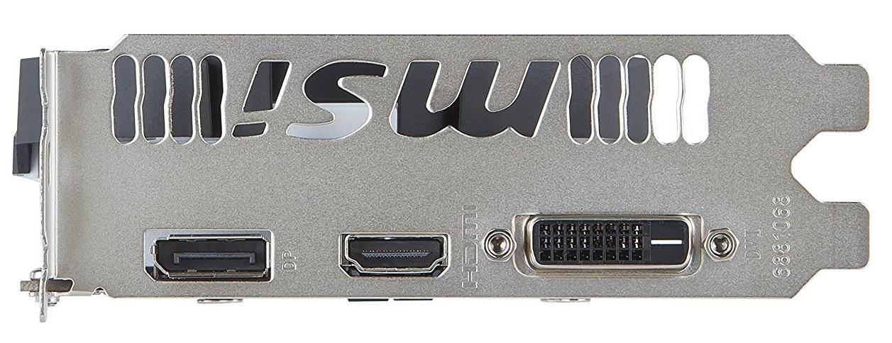MSI GeForce GTX 1060 3GB OC V2 Graphics Card image