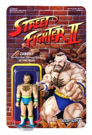 "Street Fighter II: Zangief - 3.75"" CE Retro Action Figure"